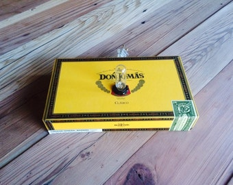 Don Tomas cigar box lamp