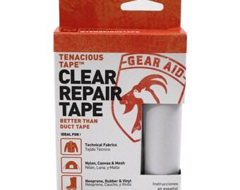 Gear Aid Tenacious Fabric Repair Tape - Various Colors