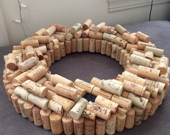 Handmade Italian Cork inspired Wreath