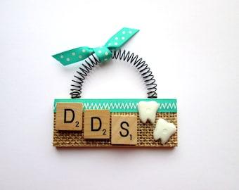 Dentist Scrabble Tile Ornament