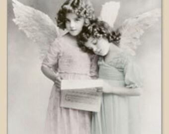 Paper Napkins, Vintage, Angel  #2080/5085