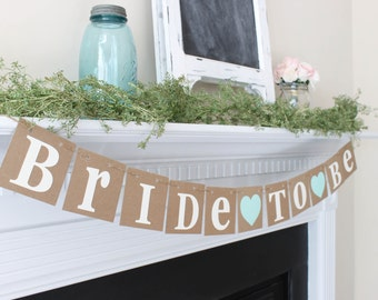 Bride to Be Banner-Choose Your Color-Bachelorette Party-Bridal Shower Decoration-Wedding Photo Prop-Wedding Sign-Engagement Banner