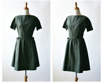 1960s vintage day dress - 60s lanz dress - medium - Dear Brigitte dress