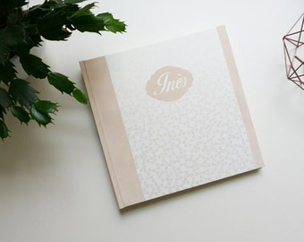 Birth photo album / custom baby