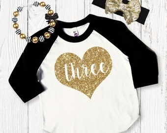 Birthday Girl Shirt, Girls Birthday Shirt, Three Birthday Outfit, Birthday Shirts for Girls, 3rd Birthday Outfits, Birthday Clothes