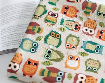 Laminated Cotton Fabric Owl By The Yard