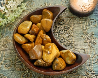 Tumbled Yellow Jasper  - The Stone for Self Confidence