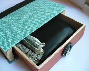 Hidden Compartment Book, Hollow Book Safe, Jewelry Box, Book Box, Minimalist Storage, Storage Box