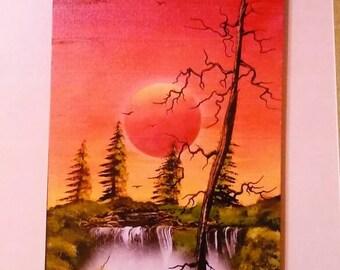 Spray paint art on canvas #325
