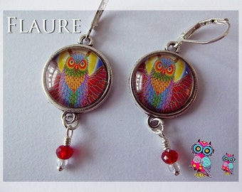 """Earrings '' Owl """""""