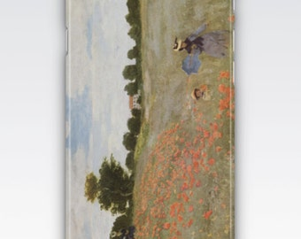 iPhone 6s Case, iPhone 6 Plus Case, iPhone 5s Case, iPhone SE Case, iPhone 5c Case, iPhone 7 case - Poppy Field Coquelicots by Claude Monet