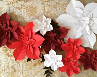 Giant Paper Flowers, Paper Flower Backdrop, paper flowers, paper flower succulents, flower wall