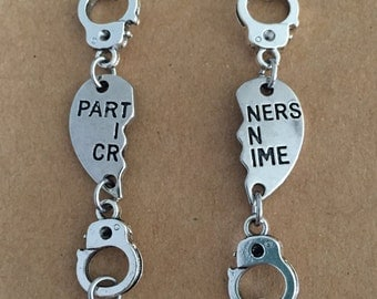 Partners in Crime Handcuff Bracelet Set