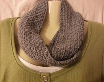 Handmade crochet infinity scarf, crochet cowl, handmade scarf, neckwarmer, circle scarf, crochet scarf