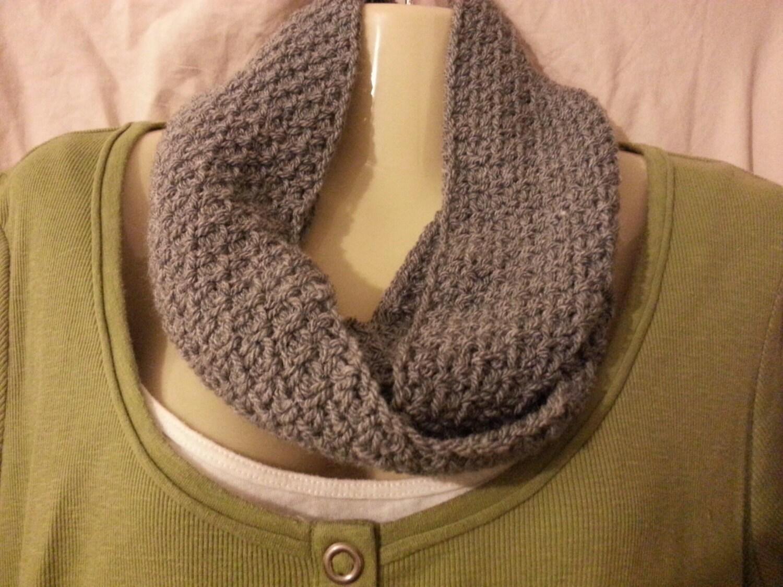 handmade crochet infinity scarf crochet cowl handmade scarf