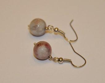 Tourmaline gemstone earrings