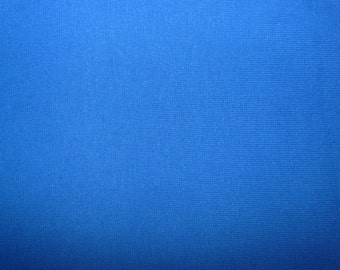 Fabric - Cotton/elastane rib fabric - 500gsm -royal blue