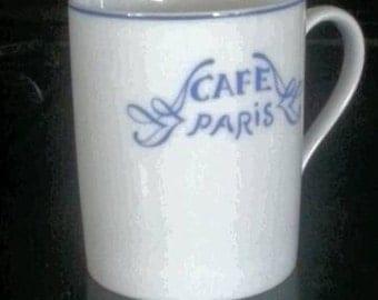 Bernardaud 'Cafe Paris' Coffee Mug