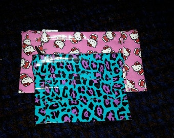 Duct Tape Coin Purse with Zipper