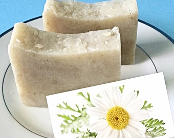 CHAMOMILE NEROLI homemade soap, Herbal Soap, Floral soap, Chamomile soap, Camomile soap, Neroli Soap, Scented soap, homemade all natural