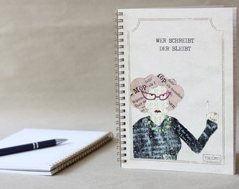 Who writes notebook - which remains