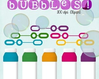 70% OFF THRU 2/13 Bubbles Clipart, Summer Fun, Digital Bubbles, Blog Scrapbooking Website, Commercial Use Graphics