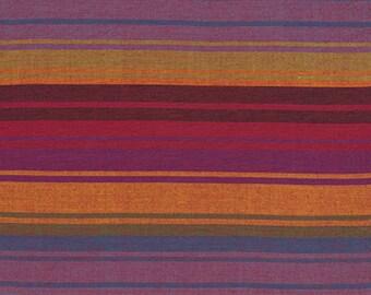 1/2 yard Kaffe Fassett Exotic Stripe Purple fabric