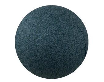 65cm Balance Ball Cover, Exercise Ball Cover, Yoga Ball Cover, Fitness Ball Cover, Fair Trade - Sage Rhapsody