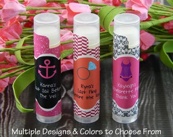 Bachelorette Party Ideas - Bachelorette Party Supplies - Lip Balm Favors - Bachelorette Party Favors - Girls Night Out - Set of 10