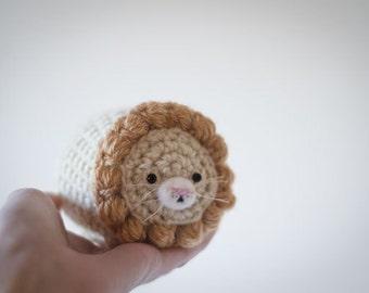 Cute Mystery Lion Amigurumi Lion Kawaii - Amigurumi Lion Crochet  OOAK