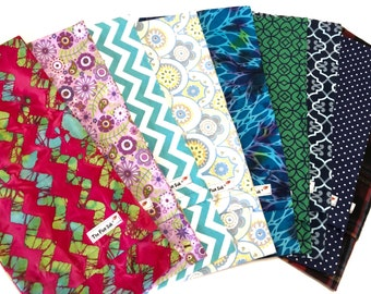 Microwave HEATING PAD, X Large, 21 x 11, Flax seed heat pad, Hot Cold Pack, Removable/Washable Flannel or Batik cotton covers, The Flax Sak