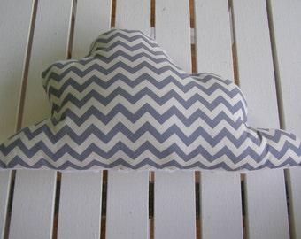cloud pillow, cloud cushion, nursery