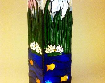 Water Scene Vase