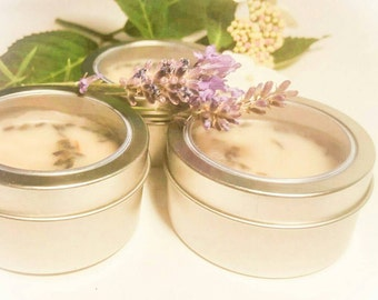 Lavender Lotion Bar Tin