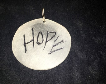 Women's March Hope Single Pierced Earring