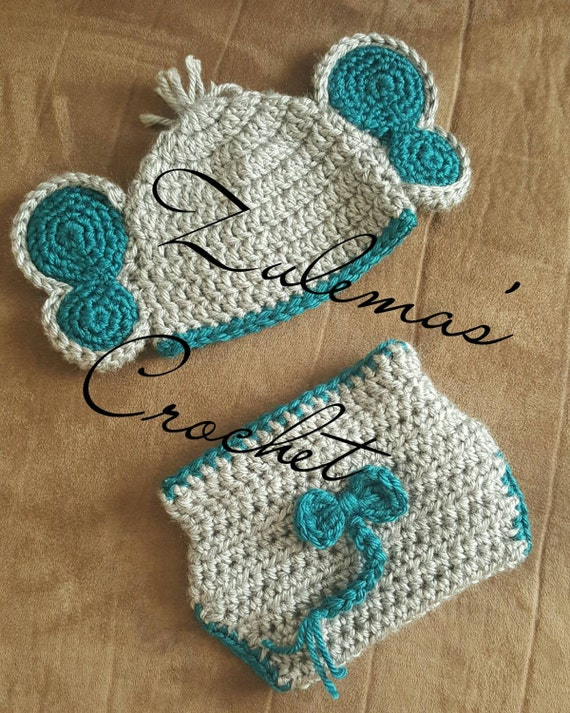 Crochet Elephant Outfit Elephant Newborn Outfit Baby Girl