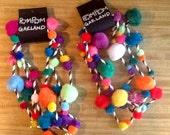 Pom Pom Garland - Christmas, birthday, anniversary, or any party!