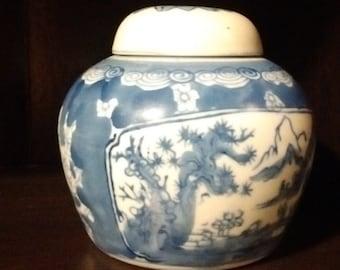 Ginger jar- porcelain