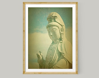 Buddha Wall Art, Buddha Print, Buddhist Art, Large Wall Art, Fine Art Photography, Buddha Poster, Zen Decor, Buddhism, Zen Art, Zen Wall Art