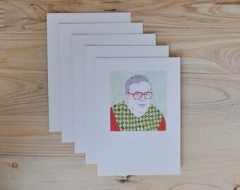 5 postcards» Wang»