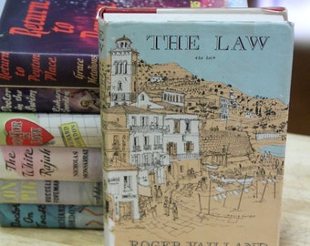 "Roger Vailland, "" The  Law ""  The Book Club, London 1958 First English  Edition"