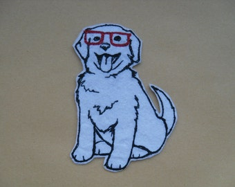 Hip DOG patches / cool DOG patch / iron on Patch