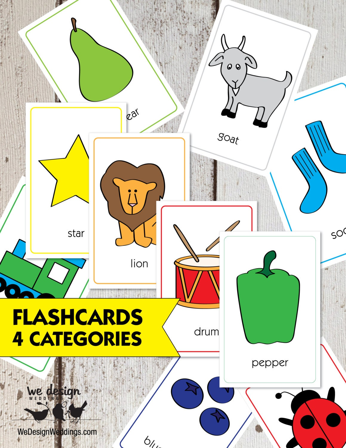 It is an image of Lively Printable Toddler Flash Cards