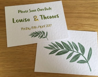 Louisa Save the Date Card A7