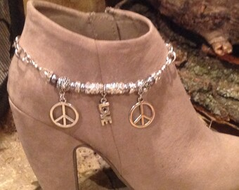 Boot bling Peace & love  2108