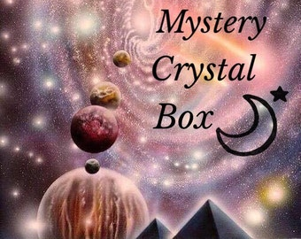 Mystery Crystal Box, Reiki Infused