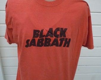 Size XL -- Black Sabbath Shirt