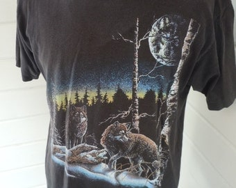 Size L+ (48) - 1980s Coyote Shirt (Single Sided)