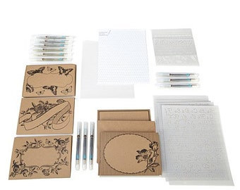 Hand lettering Caligraphy Set