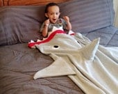 Custom Shark or Mermaid Blanket